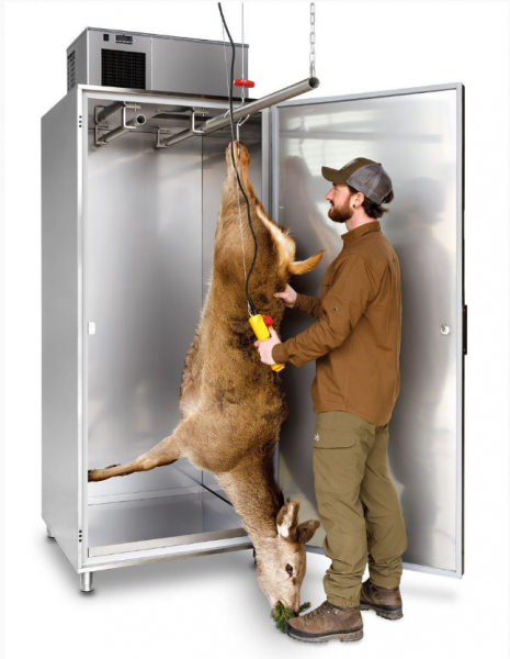 Wildkühlschrank LU 10000 Plus komplett Edelstahl