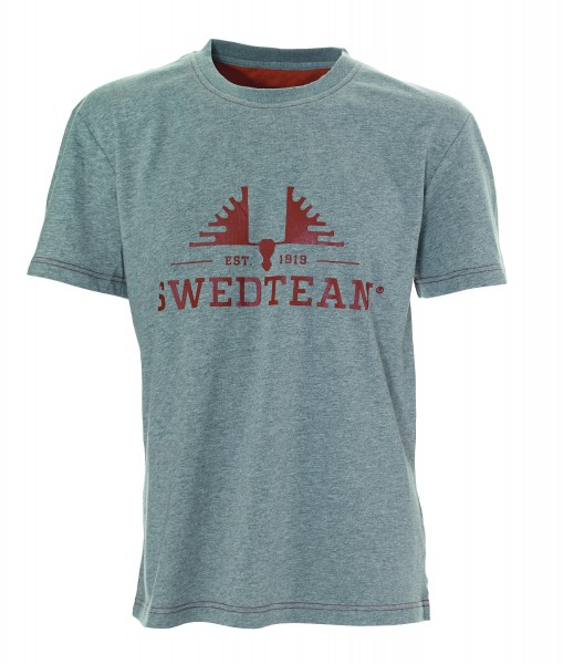 T-shirt Swedteam Grau