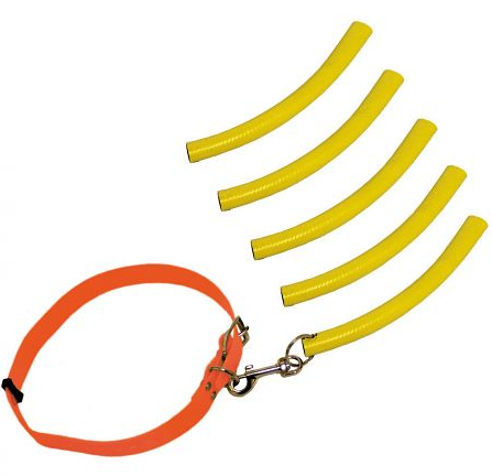 Waidwerk Bringsel Set mit Halsband und Übungsbringsel