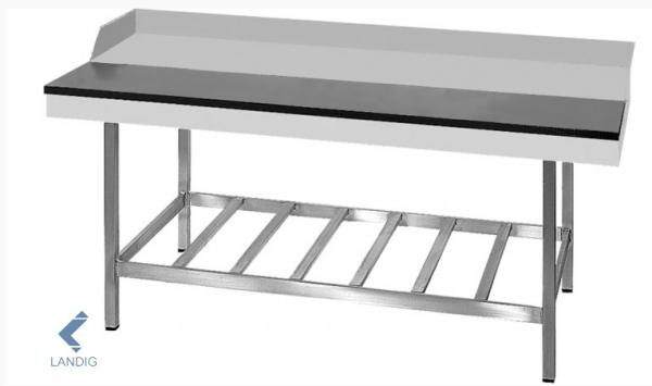 Stufentisch mit Gitterboden