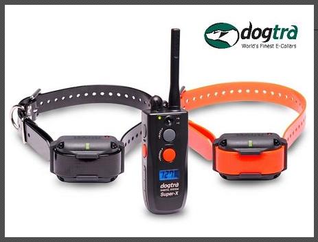 Dogtra 3502 NCP Super X 2 Hunde Ferntrainer mit 1600m Reichweite