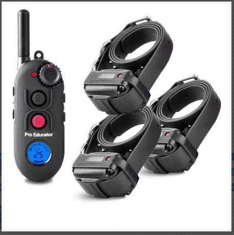 E-Collar Pro Educator PE-903 Ferntrainer für 3 Hunde