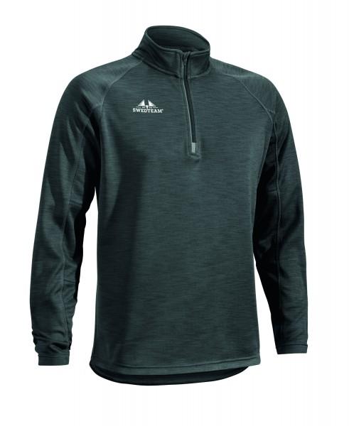 Fleecesweater Ultra light 1/2 Zip grau