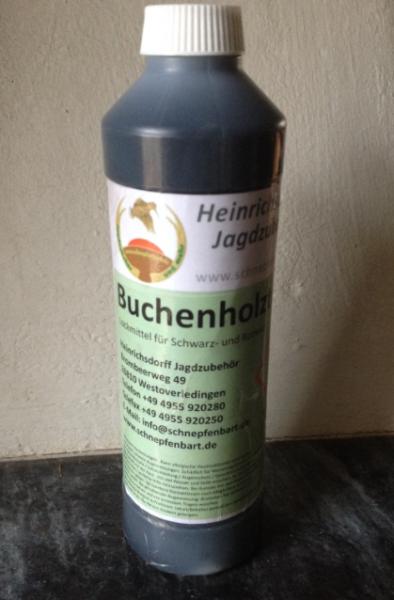 Buchenholzteer Lockmittel für Schwarz- und Rotwild Testflasche 0,5 kg