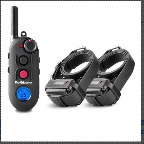 E-Collar Pro Educator PE-902 Ferntrainer für 2 Hunde